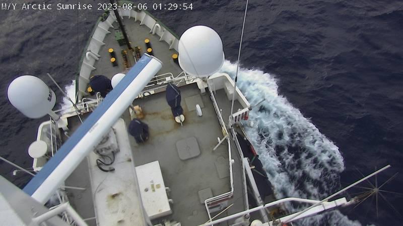 Arctic Sunrise Webcam - 18 Hours Ago