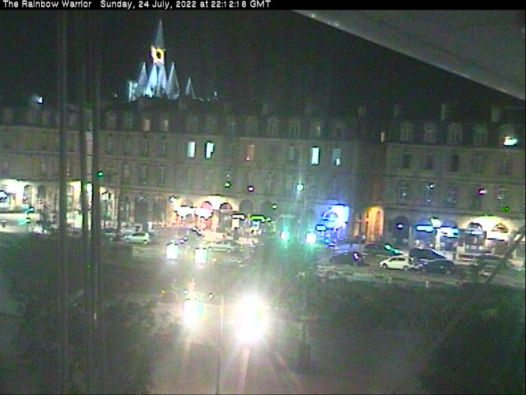 Rainbow Warrior Webcam - 18 Hours Ago