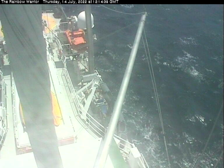 Live View Rainbow Warrior Webcam