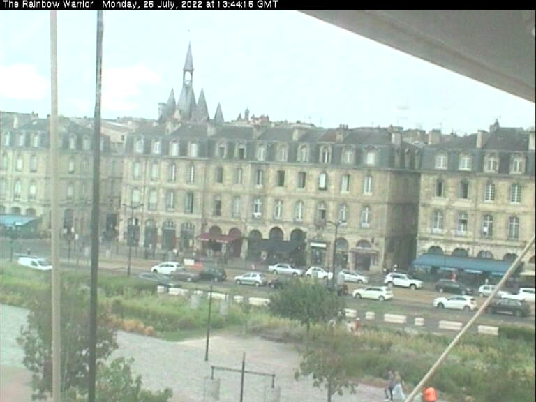 Rainbow Warrior's webcam